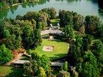 Veduta aerea di Villa Laghi